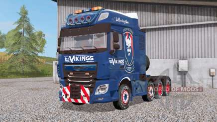 DAF XF 8x4 Space Cab Les Vikings para Farming Simulator 2017