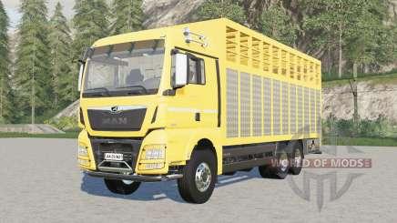 MAN TGX livestock truck para Farming Simulator 2017