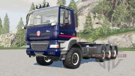 Tatra Phoenix T158 8x8 hooklift para Farming Simulator 2017