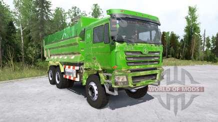 Shacman F3000 6x6 Dump Truck para MudRunner
