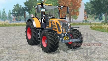 Fendt 718 Vario orange edition para Farming Simulator 2015