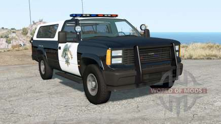 Gavril D-Series California Highway Patrol v1.7 para BeamNG Drive