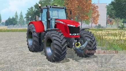 Massey Ferguson 7622 Dyᵰa-6 para Farming Simulator 2015