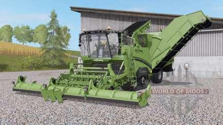 Grimme Maxtron 620 schneidwerk nachjustiert para Farming Simulator 2017
