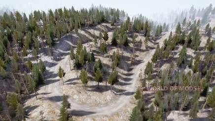 Estradas montanhosas para MudRunner