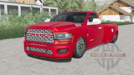 Ram 3500 Regular Cab Dually (D2) Hell Truck para Farming Simulator 2017
