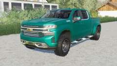 Chevrolet Silverado 1500 High Country Crew Cab para Farming Simulator 2017