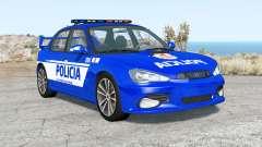 Hirochi Sunburst Fuerzas de Seguridad de Argenti para BeamNG Drive
