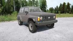 Nissan Patrol GR 3-door (Y60) 1987 para MudRunner