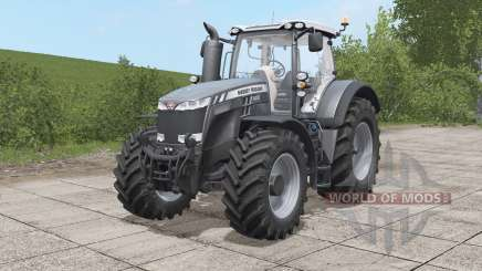Massey Ferguson 8700 Black Edition para Farming Simulator 2017