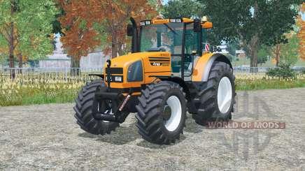 Claas Ares 816 RZ & Renault Ares 735 RZ para Farming Simulator 2015