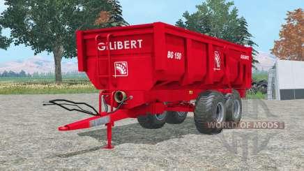 Gilibert BG 1ⴝ0 para Farming Simulator 2015