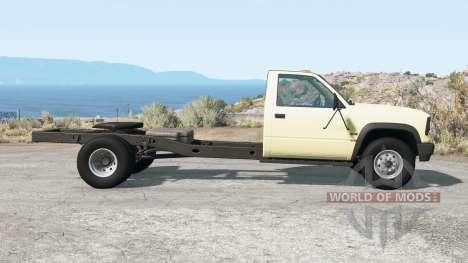 Gavril D-Series fifth wheel para BeamNG Drive