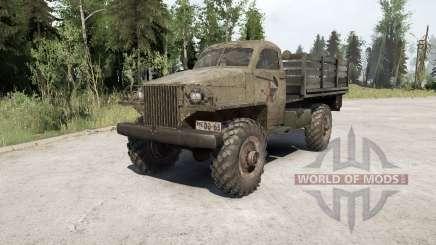 Gaz-63 1943 para MudRunner