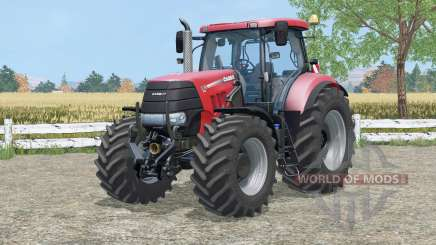 Case IH Puma 225 CVX amaranth red para Farming Simulator 2015