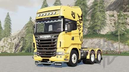 Scania R360〡R480〡R560〡R730 para Farming Simulator 2017