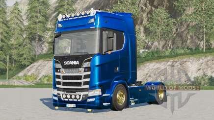 Scania S580 4x4 Highline para Farming Simulator 2017