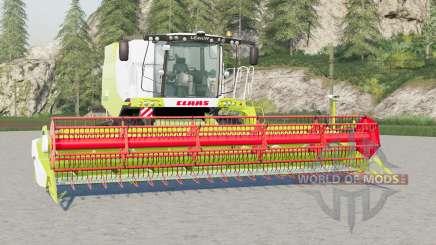 Claas Lexion 6ⴝ0〡660〡670 para Farming Simulator 2017