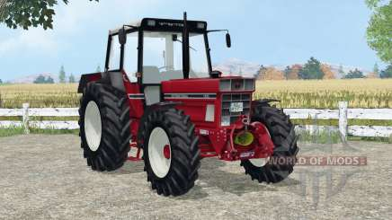 International 1455 A added wheels para Farming Simulator 2015