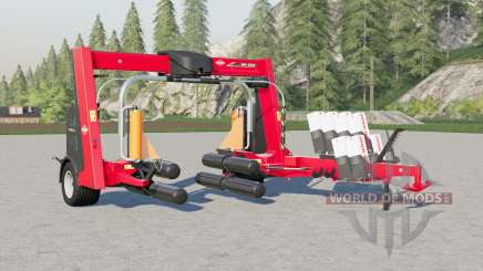 Kuhn SW 4014 big increase in wrapping speed para Farming Simulator 2017