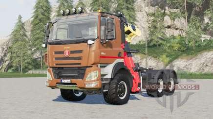 Tatra Phoenix T158 Forestry Semi-trailer 2015 para Farming Simulator 2017