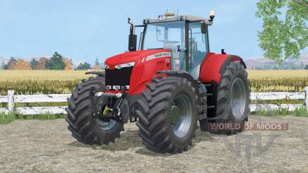 Massey Ferguson 8737 cab suspention para Farming Simulator 2015
