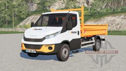 Iveco Daily Chassis Cab Polimix para Farming Simulator 2017