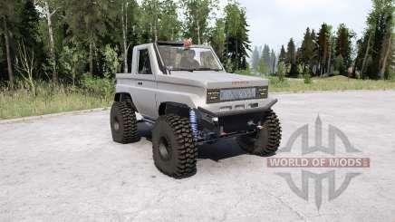 Toyota Land Cruiser 70 Pickup para MudRunner