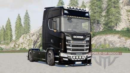 Scania S580 Highline para Farming Simulator 2017