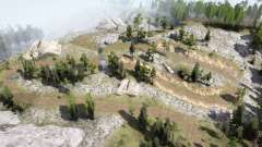 Montanhas de Prata v1.0 para MudRunner