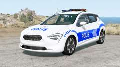 Cherrier FCV Turkish Police v1.2 para BeamNG Drive
