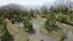 Colinas da Floresta para MudRunner