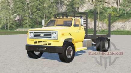 Chevrolet C70〡log truck para Farming Simulator 2017