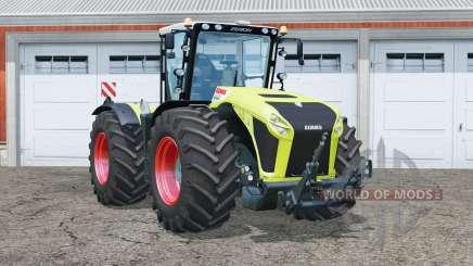 Eixos claas Xerion 4500 Trac VC〡steered para Farming Simulator 2015