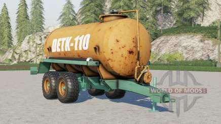 Detk 110 para Farming Simulator 2017