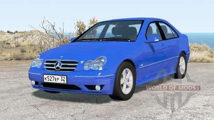 Mercedes-Benz C 320 (W203) 2004 v2.0 para BeamNG Drive