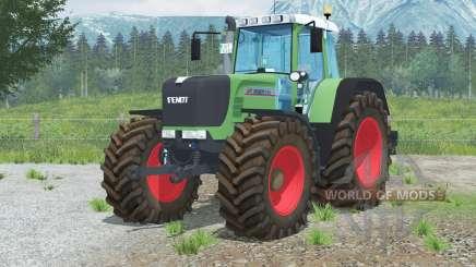 Fendt 926 Vario TMS〡hippie verde para Farming Simulator 2013