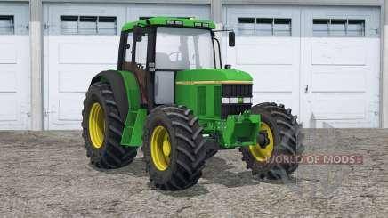 John Deere 6100〡00 de rodas para Farming Simulator 2015