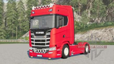 Scania S580 4x4 Highlinᶒ para Farming Simulator 2017