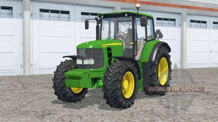 John Deere 6430 twin wheels para Farming Simulator 2015