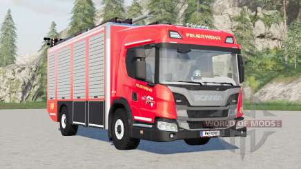 Scania L 320 4x4 Feuerwehr para Farming Simulator 2017