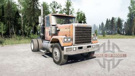 Chevrolet Bison 4x2 para MudRunner