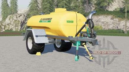 Zunhammer TS 10000 KE schleudertankwagen para Farming Simulator 2017