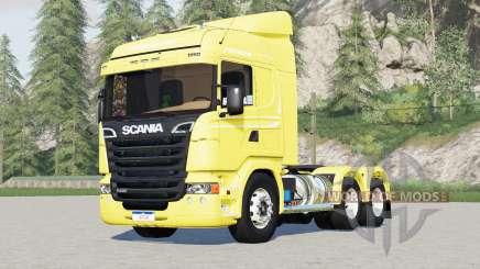 Scania R440 Streamline 6x2〡6x4 trator Highline para Farming Simulator 2017