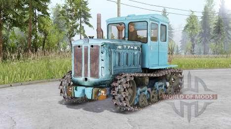 DT-75 e T-74 para Spin Tires