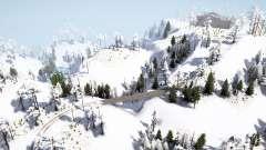Snowy Hills para MudRunner