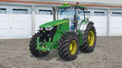 John Deere 7200R〡 rodas adicionadas para Farming Simulator 2015