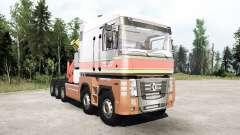 Renault Magnum 10x10 Barelds Transport para MudRunner