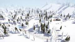 Winter Terrace para MudRunner