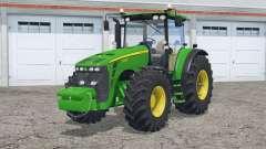John Deere 8430〡a abertura de portas e janela traseira para Farming Simulator 2015